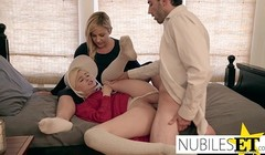 Handmaidens - Husband And Wife Try To Impregnate Busty Teen Thumb