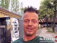 Hitzefrei.dating GERMAN JENNY BANGED OUTDOORS while cars drive by PART 1 Thumb