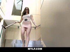 MYLF - Busty Milf Beauty Sucks Off Her Stepson Thumb