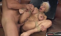 Bigtits submissive gets tiedup and buttfucked Thumb