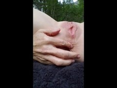 Pushing rocks in and out of asshole, wishing it was you fucking my ass! Thumb