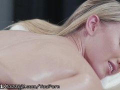 AllGirlMassage Abella Danger Licks,Fingers & Fists her to Ecstasy Thumb