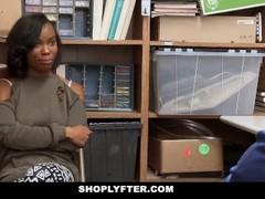 ShopLyfter - Cute Ebony Teen Recorded Store Fuck Thumb