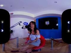 BaDoinkVR.com Live DJ Sex Broadcast With Busty Charlotte Cross Thumb