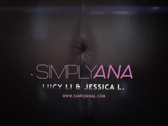 Simplyanal - Sharing Anal Toys - Lesbian Anal Thumb