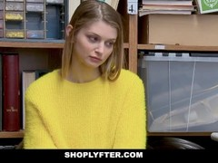 ShopLyfter - Busty Blonde Teen Gets Plowed by LP Officer Thumb