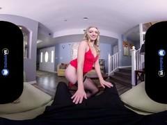 BaDoinkVR.com Blonde Slut Riley Reyes Won't Go Home Without Fucking Thumb