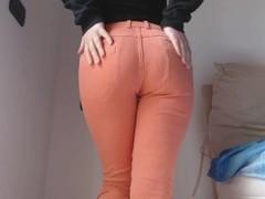 Pee in my orange jeans Thumb