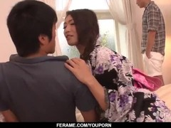 Tight Reiko Kobayakawa enjoys dicks in both holes - More at Slurpjp.com Thumb