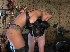 Whipping Slave in Dungeon Thumb