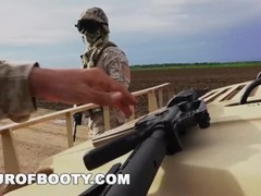 TOUR OF BOOTY - American Soldiers In The Middle East Negotiate Sex Using Goat As Payment Thumb