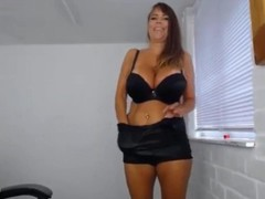English dirty talking posh housewife Lolly with monster tits Thumb
