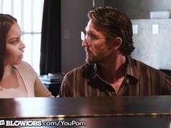 OnlyTeenBlowjobs Manipulative Teen Sucks of Piano Teacher! Thumb