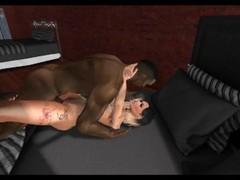 Second Life Pornstar - Jade Doet - A day at work Thumb
