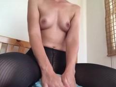 PantyHose Pillow Hump- Part 1 (camera cut off while filming) Thumb