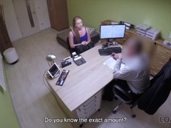 LOAN4K. Agent can give babe credit only if she satisfies sex needs Thumb