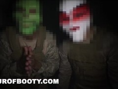 TOUR OF BOOTY - Rogue Military Soldiers Sneak Arab Hookers On Base Thumb