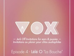 La bouche. Jerk off invitation pour femmes. VOXXX Podcast. AUDIO Binaural Thumb