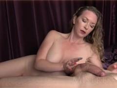 Ball Tease & 1 Finger Cum Shot - Mistress T Thumb
