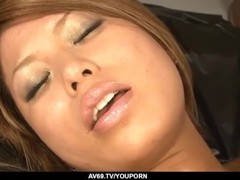 Aiki Kurosawa shows naked and dealing two dicks on cam - More at 69avs.com Thumb