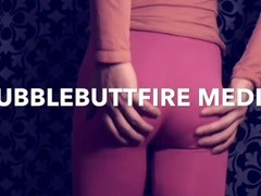 bubble butt fire media and content creation PINK PANTYHOSE BUTT TEASE Thumb
