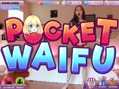 Nutaku Pocket Waifu HarloweBlue Breaks The Matrix Thumb