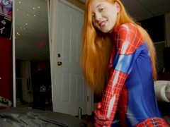 The Amazing Spider-Girl Gets Face Fucked Thumb