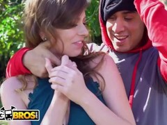 BANGBROS - Alex Blake Gets Manhandled By A Horny Thief, Bruno Dickemz Thumb