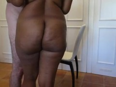 Real Couple has awesome anal sex on a chair Thumb