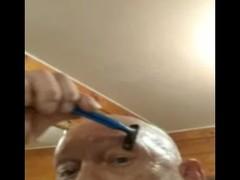 shaving eyebrows me.mp4 Thumb