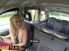 Female Fake Taxi Hot blonde breaks passengers cock during rough fucking Thumb