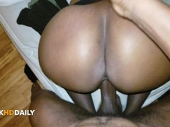 Big Thick Ebony Ass Dicked Down Right Thumb