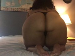 BBW Teen Sucks And Fucks Dildo, Edges and Has a Shaking Orgasms With Vibe Thumb