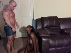 Ebony step daughter wants to get pregnant Thumb
