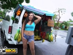 BANGBROS - Fruit Lady Luna Leve Gets Freaky On The Bang Bus! Thumb