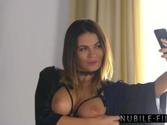 NubileFilms - Naughty Assistant Surprises Her Boss At Home S27:E30 Thumb