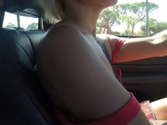 Fantastic orgasm on the freeway while driving Thumb