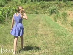 Sunshine and olive trees - Outdoor amateur quickie - LenaLouix Thumb