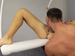 First Anal Fucking on a Sex Swing With Multiple Orgasms And Anal Creampie . Thumb
