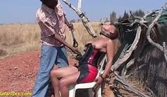 african fetish fuck lesson at the savannah Thumb