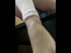 Ballroom student cum after training Thumb