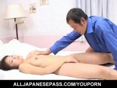 Mirai Hoshino licks and sucks cock she gets in her shaved cooter - More at hotajp.com Thumb