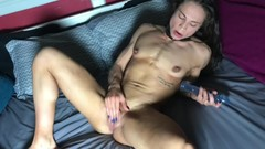 FBB Lucy Skyy Fingers & Toys Wet Pussy Thumb