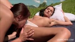 Hot Teen Lesbian Licking Girlfriends Pussy Thumb