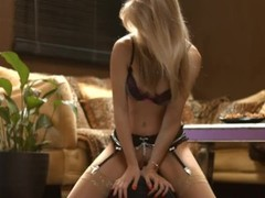 Chloe Toy smoke and ride a sybian Thumb