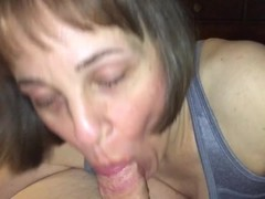Mature cougar oral creampie POV Thumb