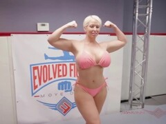 Mixed championship  single wrestling With BBW ALURA JENSON Thumb