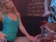 Lesbian sensual dancing, teasing and Scissoring Thumb