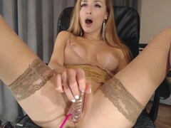 egome777 | sitting on dildo squirt Thumb