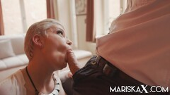 MARISKAX Busty blonde MILF Valentina Babe has her ass stuffed Thumb